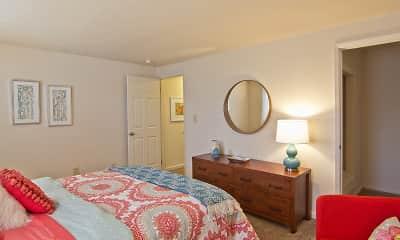 Bedroom, Galloway Village Apartments, 2