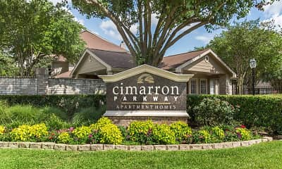 Community Signage, Cimarron Parkway Apartments, 0