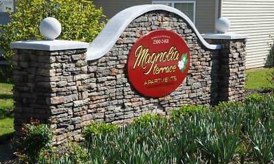 Community Signage, Magnolia Terrace, 1