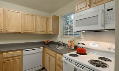 Kitchen, Seven Oaks Townhomes, 1