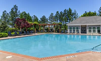 Pool, Mill Creek Run Apartments, 1