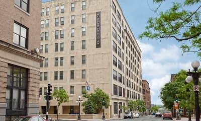 Building, Cosmopolitan Apartments, 2