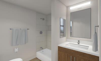 Bathroom, The Benedictine, 2