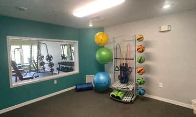 Fitness Weight Room, Stoneridge Apartments, 2