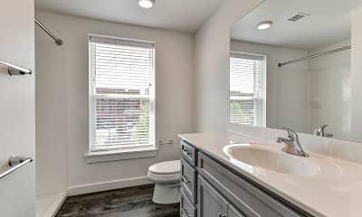 Bathroom, 550 Lofts, 2