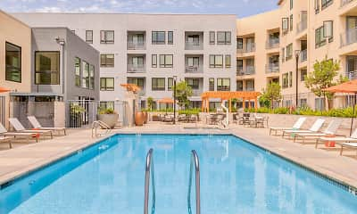 Pool, Silver Apartments, 2