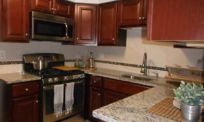 Kitchen, Hidden Lake Town And Country Apartments, 0
