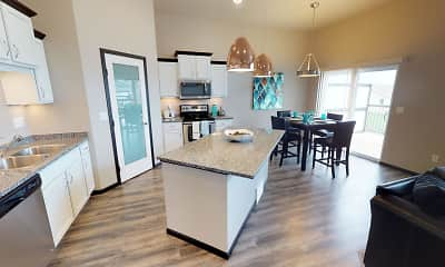 Kitchen, Diamond Creek Town Homes and Twin Homes, 1