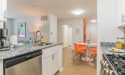 Kitchen, Eagle Rock Apartments at Freehold, 1
