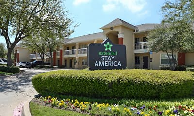 Community Signage, Furnished Studio - Fort Worth - Medical Center, 0