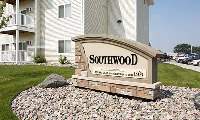 Community Signage, Southwood Apartments, 1