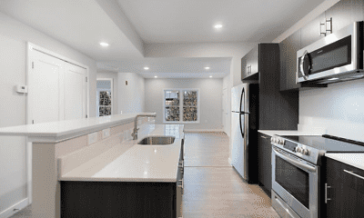Kitchen, Manor Flats off Sansom, 1