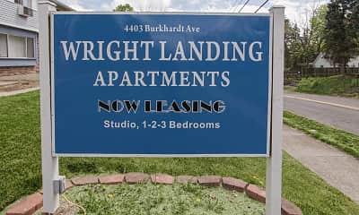 Community Signage, Wright Landing, 2