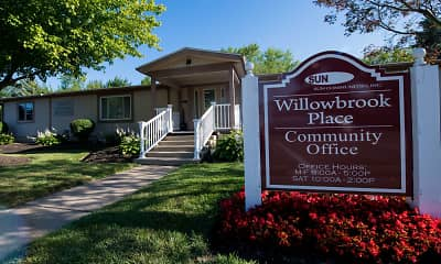 Community Signage, Willowbrook Place, 2