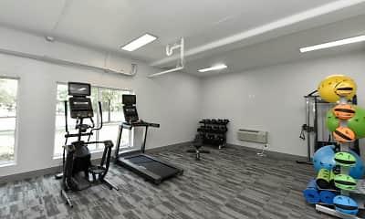 Fitness Weight Room, Riverset, 1
