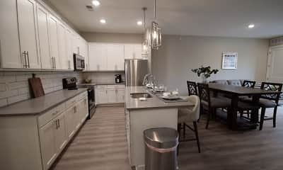 Kitchen, Cedar Valley Luxury Apartments, 1