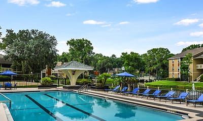 Pool, The Waterford at Mandarin Apartments, 0