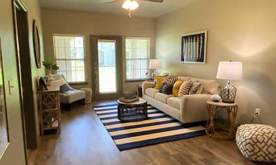 Living Room, Lake Villas Apartments, 1