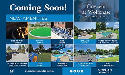 Community Signage, Crescent at Wolfchase, 0