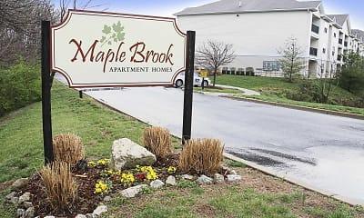 Community Signage, Maple Brook Apartments, 0