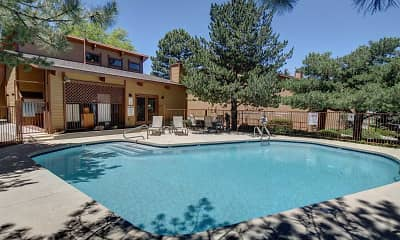 Pool, Butterfield Apartments, 1