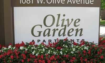 Community Signage, Olive Garden, 2
