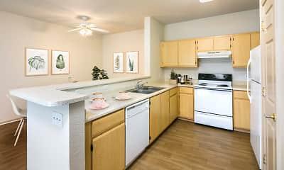 Kitchen, Natomas Park, 1