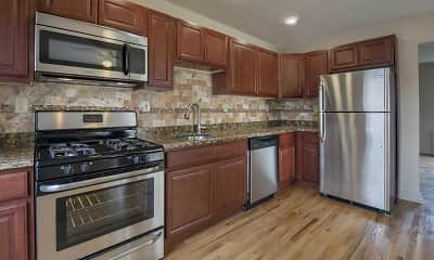 Kitchen, Franklin Manor Apartments, 0
