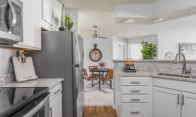 Kitchen, Steeplechase Apartments, 0