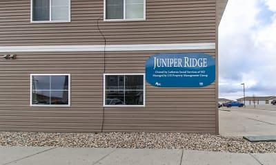 Community Signage, Juniper Ridge, 1