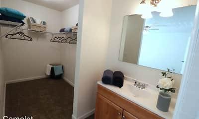 Bathroom, Camelot Apartments, 2