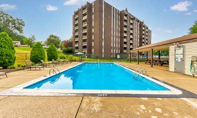 Pool, LaVale Apartments, 0