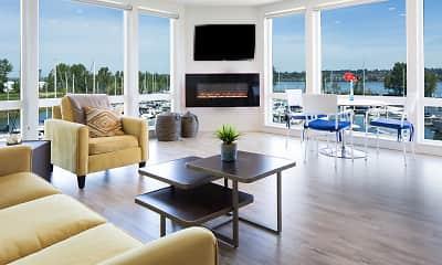 Living Room, Yacht Harbor Club, 1