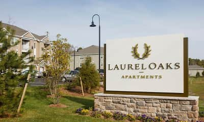 Community Signage, Laurel Oaks Apartments, 2