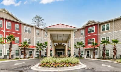 Building, Brookestone Senior Apartments, 0