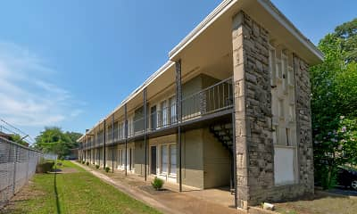 Building, University Flats, 1