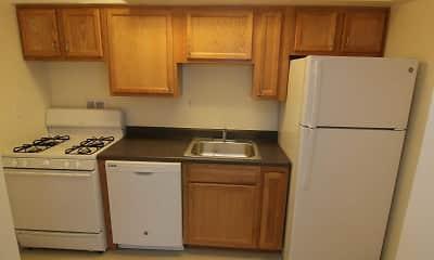 Kitchen, Highland Terrace Apartments, 1