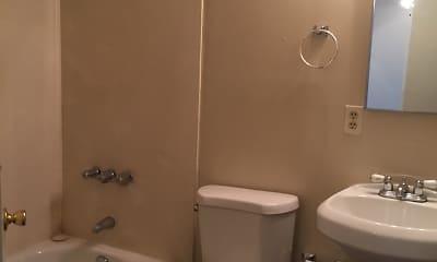 Bathroom, Hilltop Apartments, 2