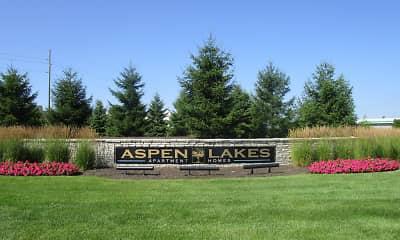 Community Signage, Aspen Lakes, 1