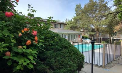 Pool, Beaver Creek and Beaver Cove Apartments, 1