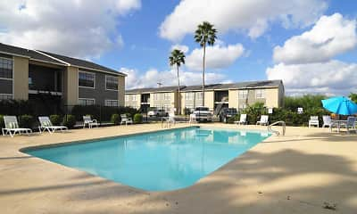 Pool, Apple Creek Apartments, 0