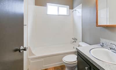Bathroom, Capitol Club, 2