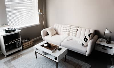 Living Room, Greenbriar Apartments, 0