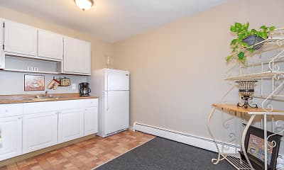 Kitchen, Chestnut Square Apartments, 1