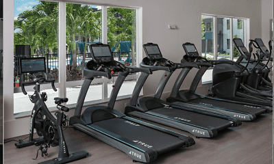 Fitness Weight Room, The Avli at Crosstown Center, 2