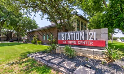 Community Signage, Station 121 At Town Center, 2