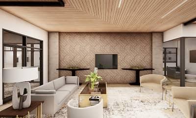 Living Room, Alexan Scottsdale, 2