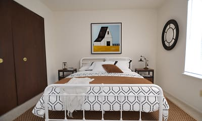 Bedroom, Beacon Hill Apartments, 2