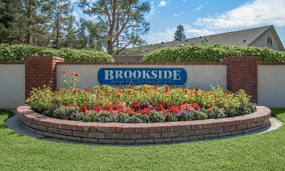 Community Signage, Brookside Senior Apartments, 1