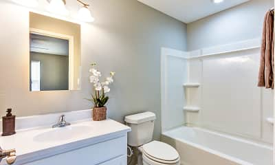 Bathroom, Mercedes Place Apartments, 2